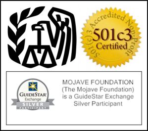 501c3 IRS Guidestar logo