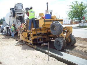 Curb & Gutter Machine