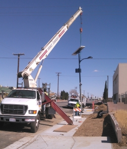 Streetlight installation